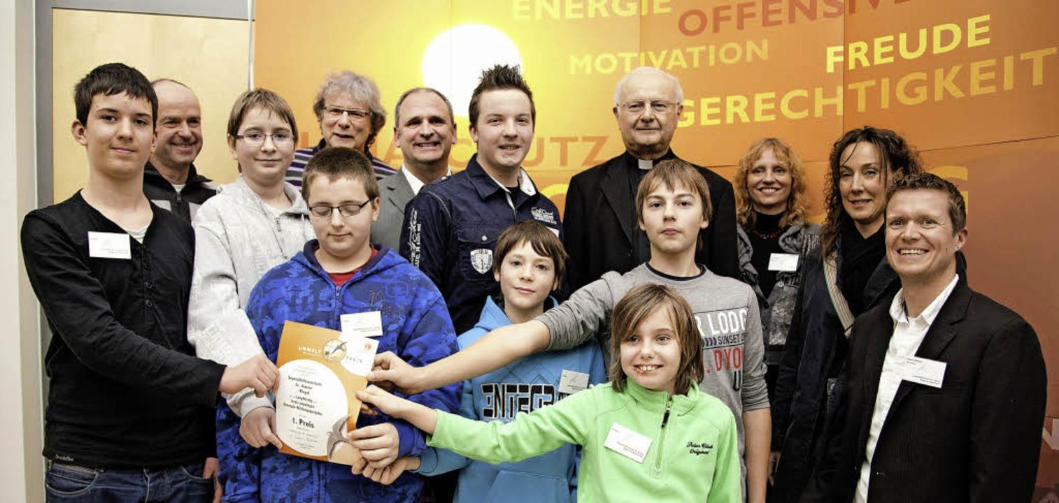 Das Jugendhilfezentrum St. Anton in Ri...n ersten Preis am Freitag in Freiburg.  | Foto: Erzbistum Freiburg / Tobias Heink