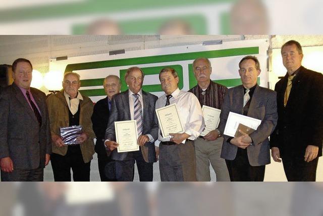 Verdiente Stützen des GDL-Ortsvereins geehrt
