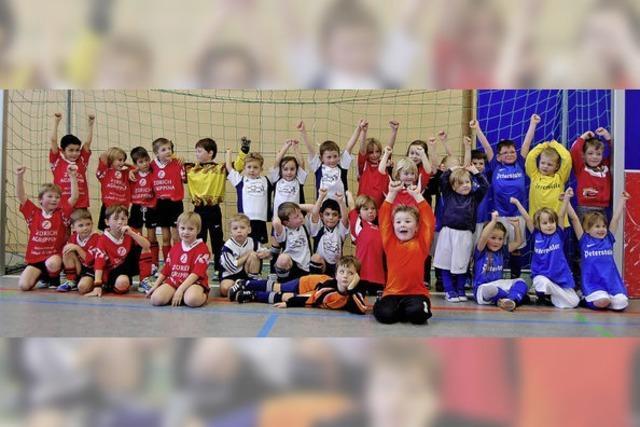 Beim FC Binzgen sind Generationen am Ball