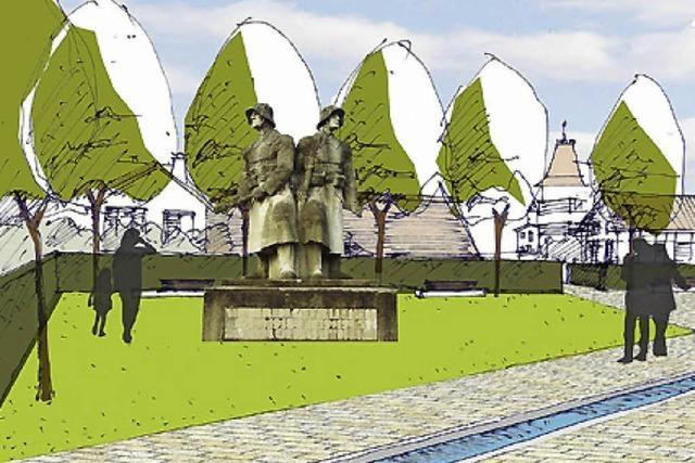 Kriegerdenkmal rückt wieder in Blickpunkt
