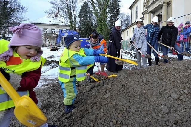 2,66 Millionen Euro kostet der Neubau des Maria-Hilf-Kindergartens