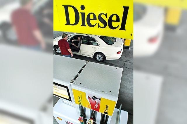 Eine Hilfe für den Weg zur billigsten Tankstelle