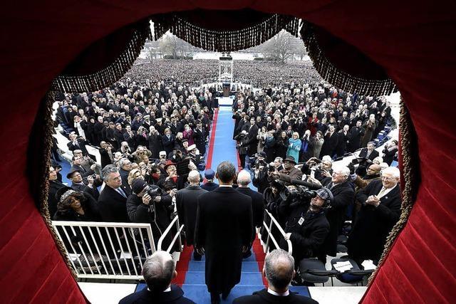 US-Präsident Obama legt Amtseid ab