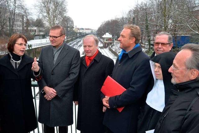 Offenburg kämpft für den Güterzugtunnel