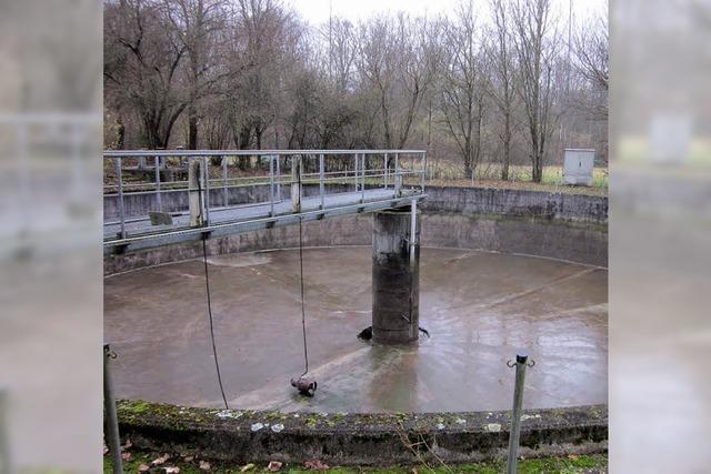 Regenüberlaufbecken werden saniert