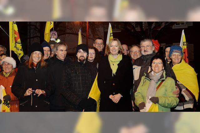 Prominente Unterstützung aus Berlin