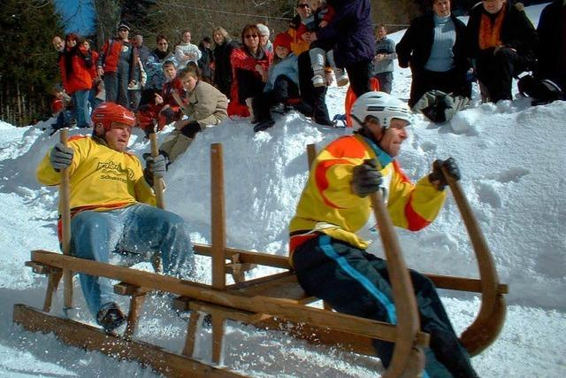 Hornschlittenrennen in Elbenschwand schon wieder abgesagt