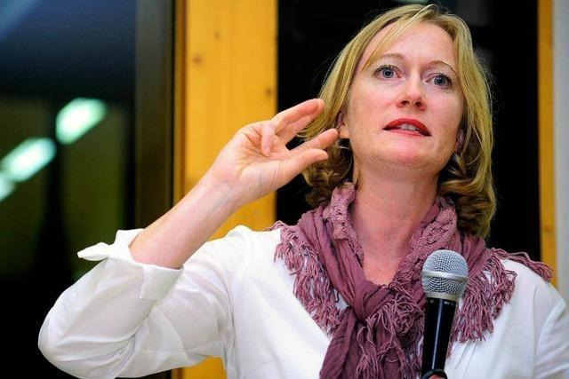 Kerstin Andreae strebt Direktmandat in Freiburg an