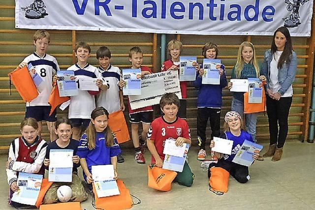 Suche nach jungen Handballtalenten
