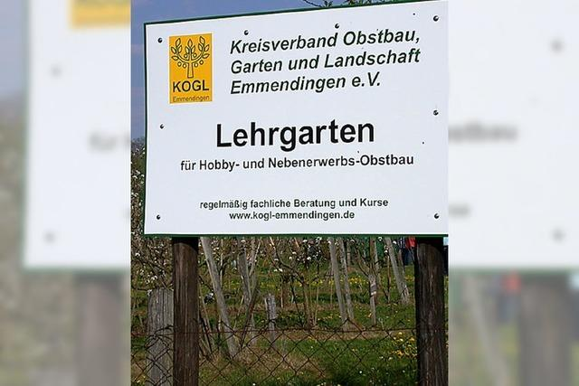 Kogl kauft den Lehrgarten