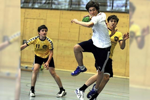 Schulhandballer verpassen Finale