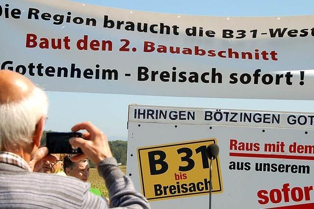 B 31 führt Bürgermeister nach Berlin