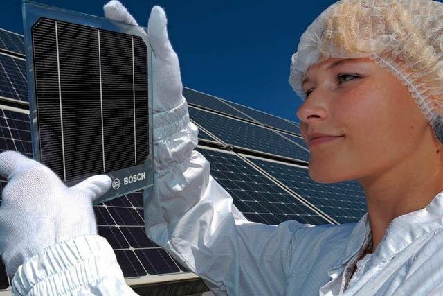 Die Bosch-Solarsparte verbrennt Milliarden Euro