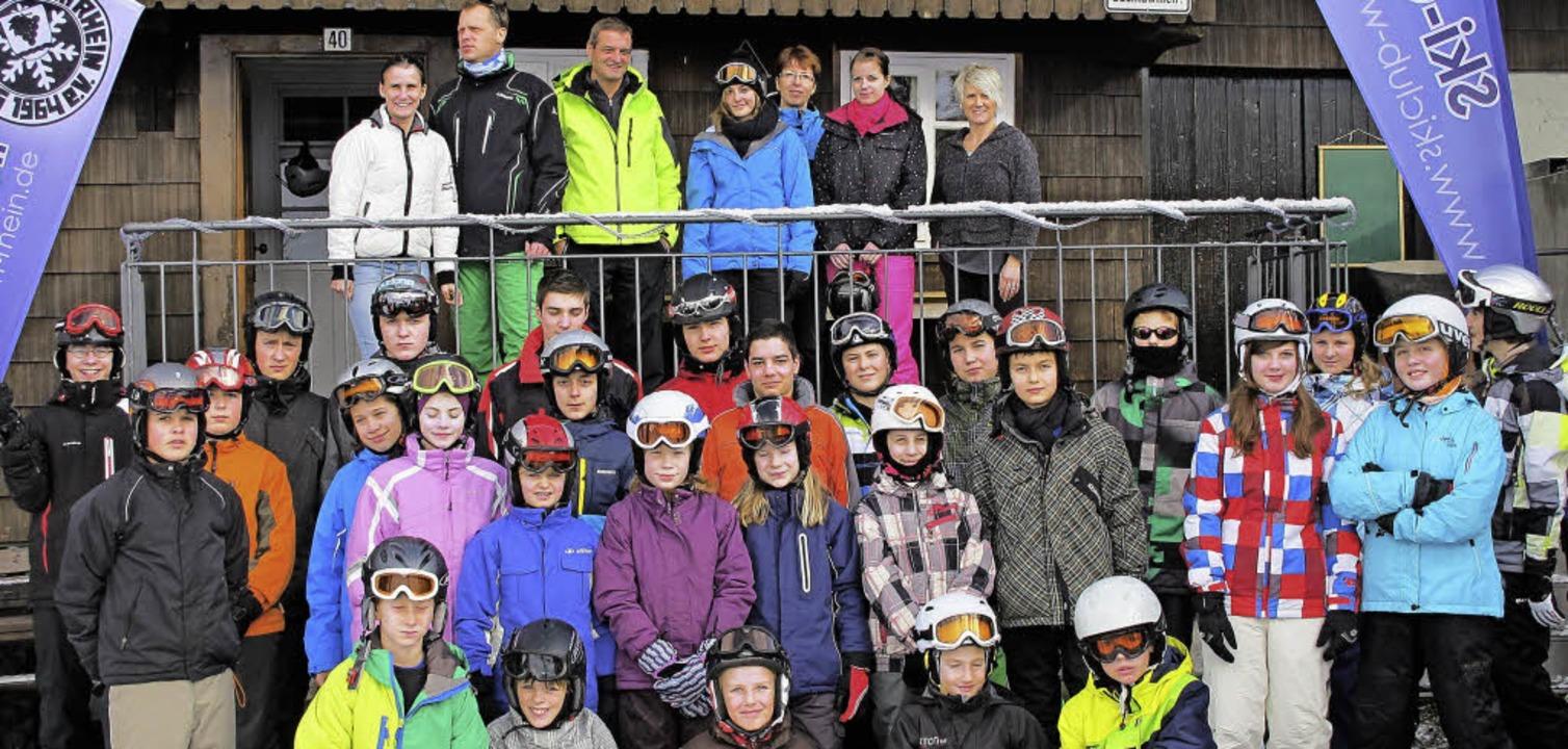 Begeisterte Teilnehmer: Die Jugendwoch...m nach einjähriger Pause sehr gut an.   | Foto: Skiclub