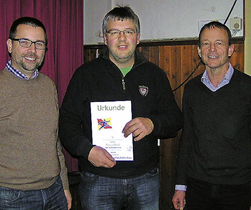 Christian Ott (links) und Guido Leyend...ren Mitglied im Turnverein Hägelberg.   | Foto: Verein