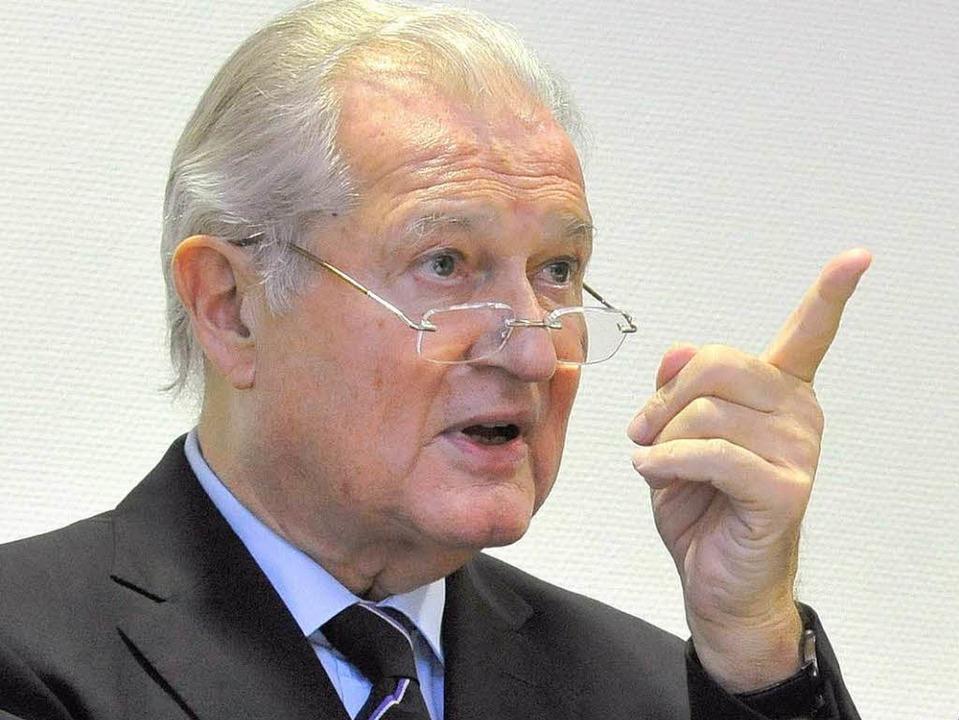 Klinikchef Rüdiger Siewert erwartet, d...ahren ein Arbeitsergebnis  vorlegt.     | Foto: BAMBERGER/PRIVAT