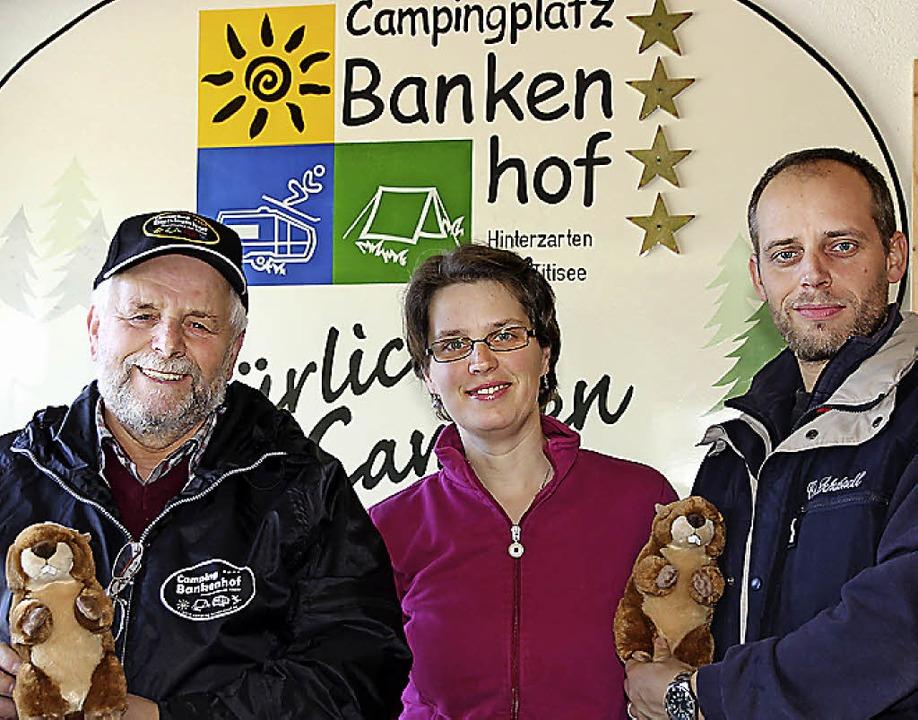 Ausgezeichnet: Alois Schubnell, Daniela Schweizer und Martin Schubnell.  | Foto: Eva Korinth