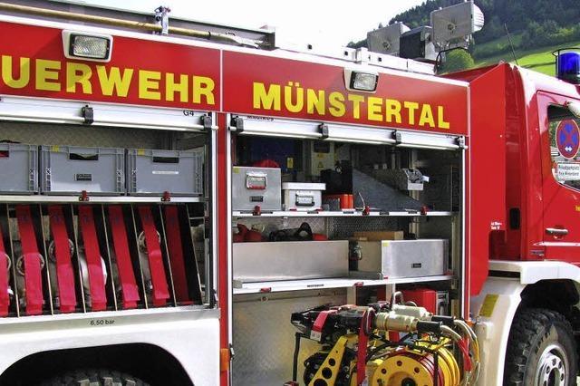 Die Feuerwehr bekommt zwei neue Fahrzeuge