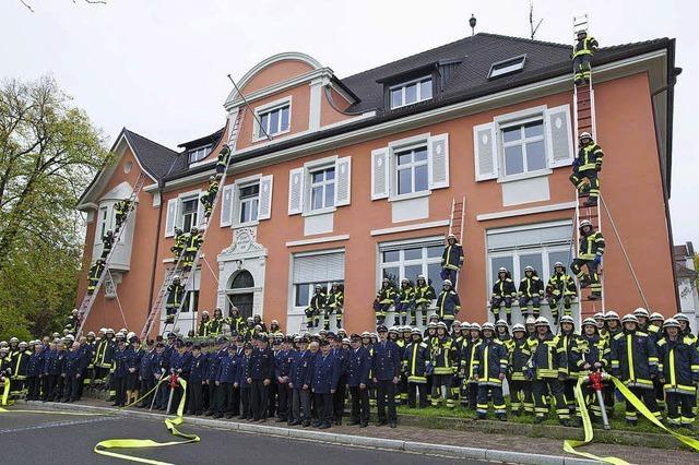 Schnell muss die Feuerwehr sein und professionell