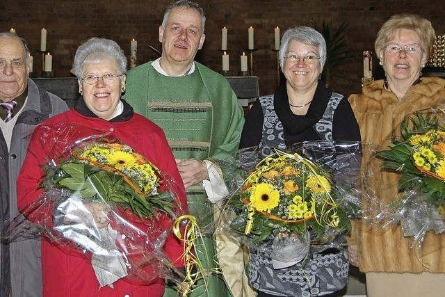 Seit 60 Jahren im Kirchenchor