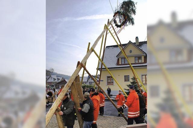 Narrenhoheit aus dem Schweizer Exil