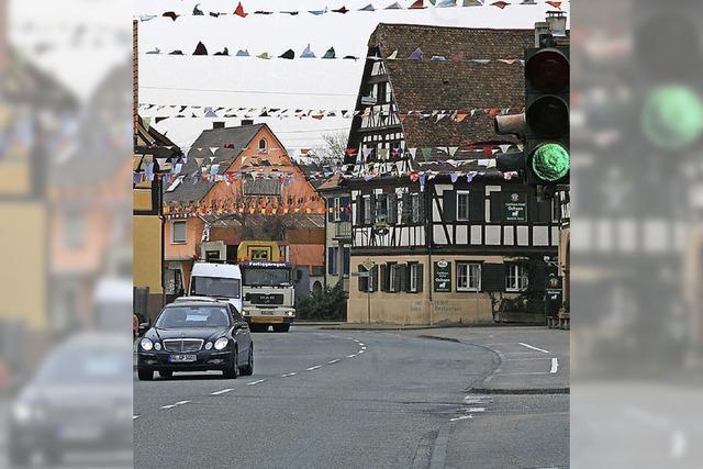 Neue Gestaltung der Hauptstraße