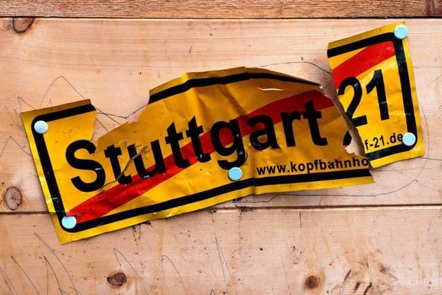 Bund fragt nach Alternativen zu Stuttgart 21