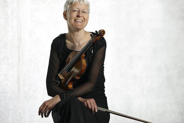 Faszination Geige: Ines Then-Bergh und Ralf Schumann in Sulzburg-Laufen