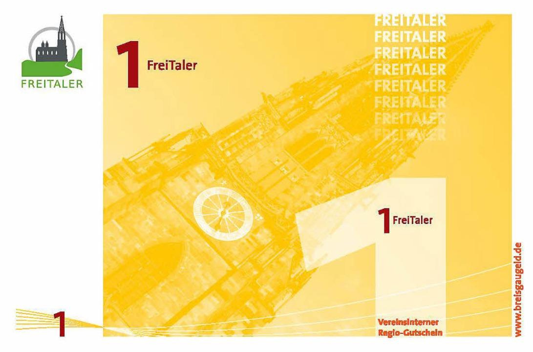 Das Freiburger Münster ziert den  gelben Ein-Freitaler-Schein.  | Foto: Privat