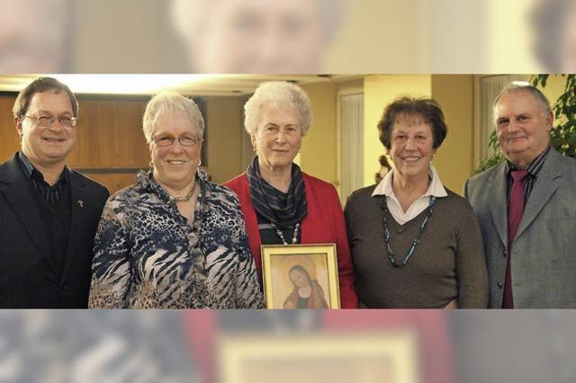 Gerda Schlenker seit 60 Jahren aktive Sängerin