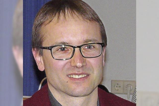Ehrennadel für Andreas Biegert