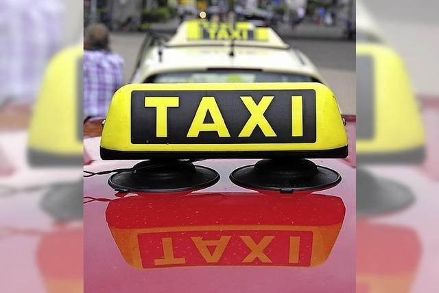 Heimfahrt mit dem Privat-Taxi