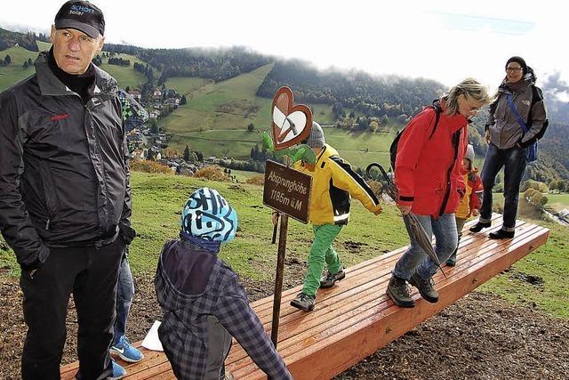 In Todtnauberg soll eine 50 Meter lange Holzbank entstehen