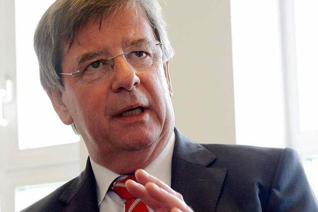 Willi Stächele ist neuer Chef des Oberrheinrates