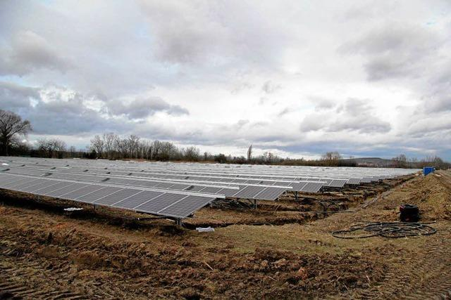 Bürger investieren in den Solarpark