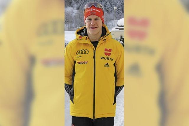 Biathlet Roman Rees liegt lange auf Medaillenkurs