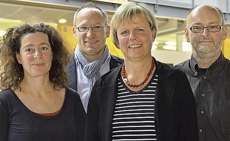 Partner (von links):  Sonja Benz-Peisz... Hehl (KRS), Wolfgang Zschämisch (FES)  | Foto: Nikolaus Trenz