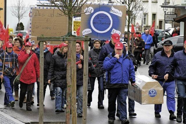 Lauter Protest gegen Verlagerung