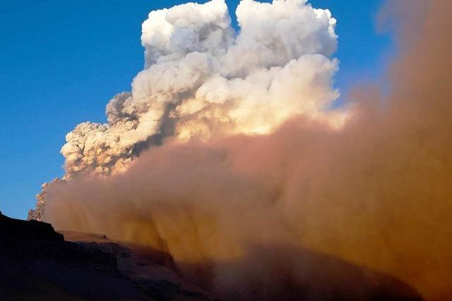 Bei Vulkanausbrüchen sind Airlines in der Pflicht