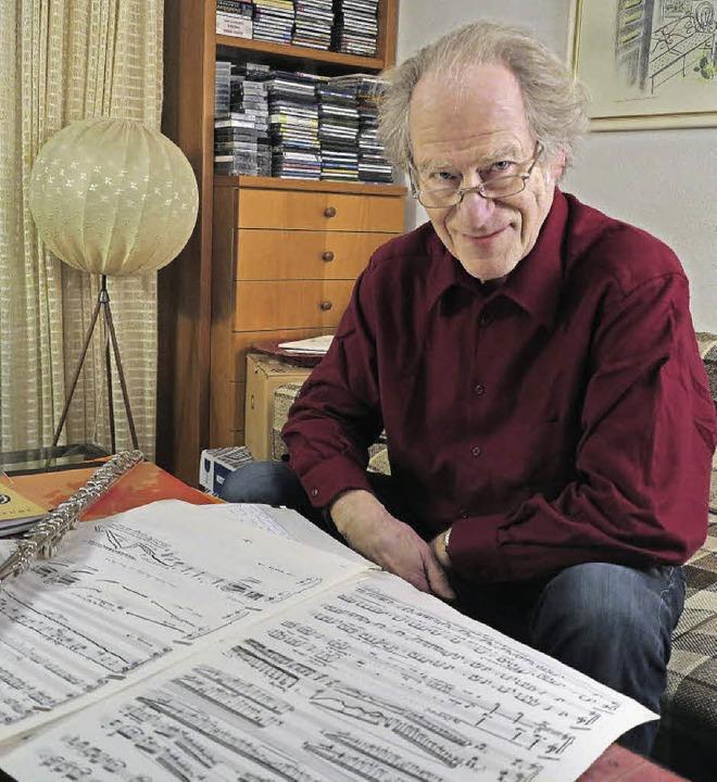 Frank Michael: Flötist, Komponist und Musiklehrer   | Foto: Dorothee Philipp