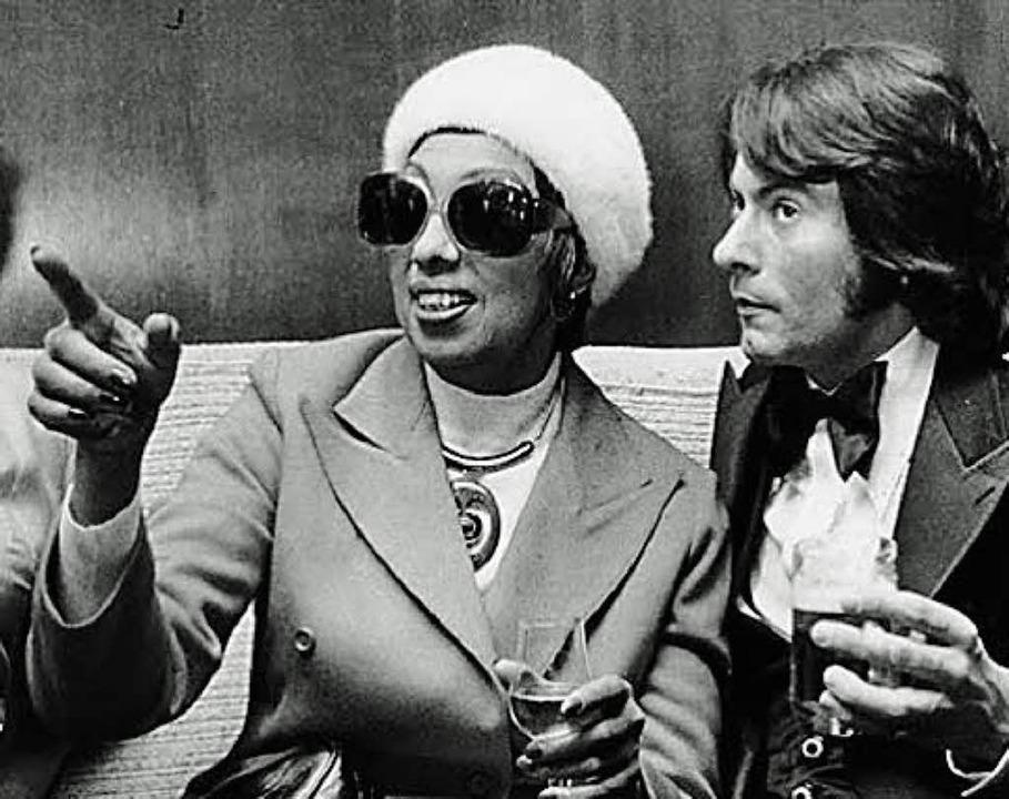 "Berlin 1965: Jean-Claude Baker mit ""Maman"" Josephine  | Foto: Jean-Claude baker"