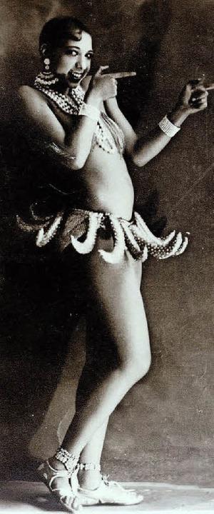 Paris 1927: Josephine Baker  im Bananenrock  | Foto: Walery
