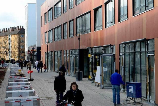 Erste Geschäfte in Westarkaden sind eröffnet