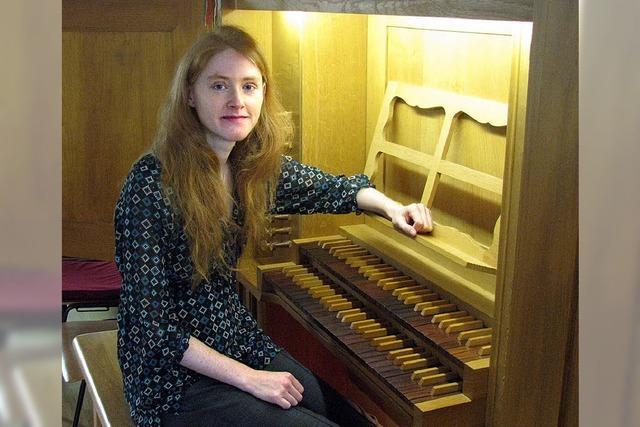 Vanessa Werner aus Grenzach spielt in der Christuskirche Rheinfelden