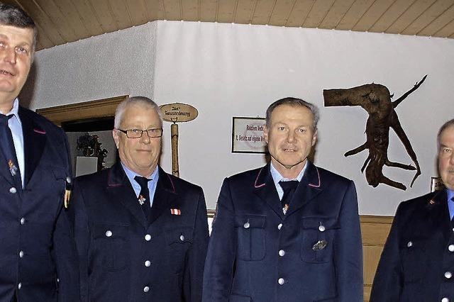 Mehr als 40 Jahre für die Feuerwehr im Dienst