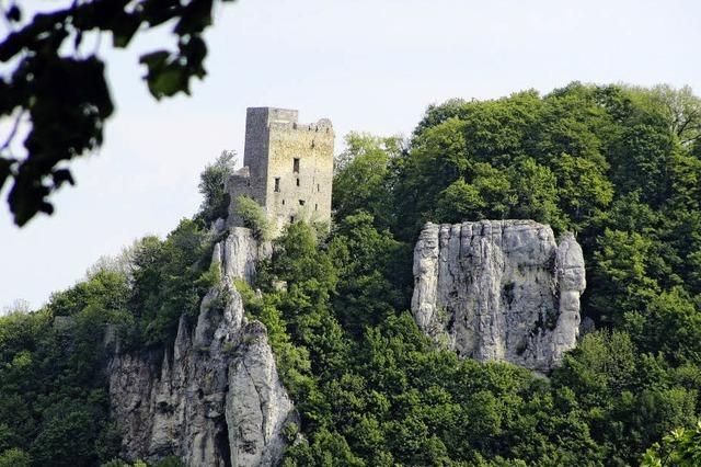 Felsen, Höhlen, Kräutergärten