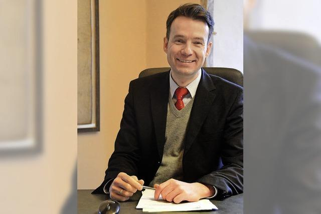 Bürgermeister Hall startet in die zweite Hälfte seiner achtjährigen Amtszeit