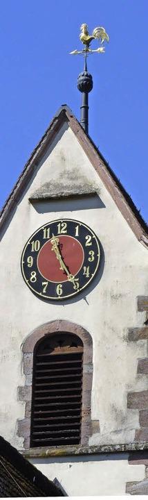 Mit Seltenheitswert: In der Laurentius...ten die Glocken noch mit Handantrieb.   | Foto: sattelberger