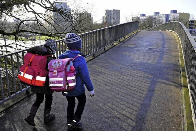 Steg statt Landwasser-Brücke: Stadt winkt ab