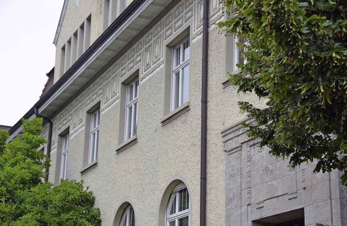 Die Energiedienst-Villa ist schön anzu... aber sie steht bis auf weiteres leer.  | Foto: Ingrid Böhm-jacob